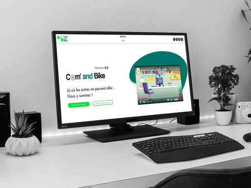 "Création du site "" Com' and Bike """