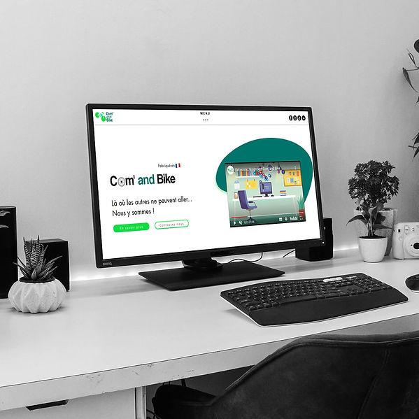 Com and Bike - Création de site web
