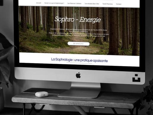 Création du site de la Sophrologue, Stéphanie Mognard