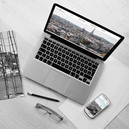 Immobilière Regnier & Martins - Création de site web