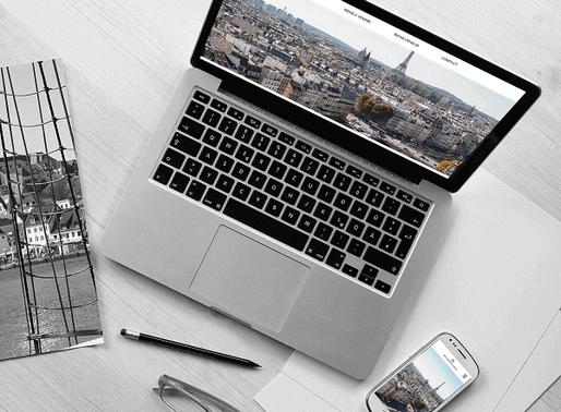Lacky Agence Web : Création du site Immobilière Régnier & Martins