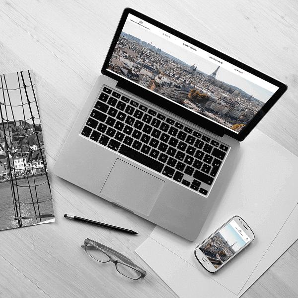 Création du site Immobilière Régnier par Lacky Agence Web