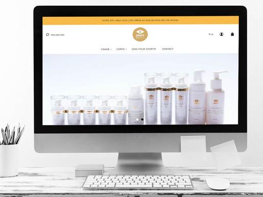 Création du site GMT Beauty