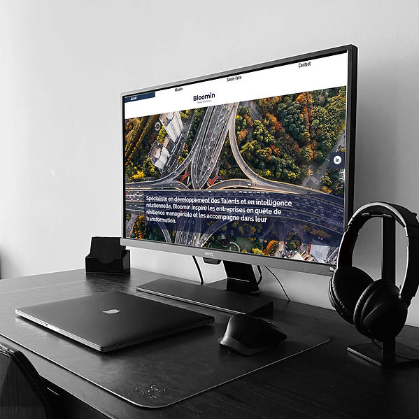 Bloomin Talents - Refonte de site web