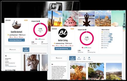 création site internet influenceur par Lacky agence web Marseille