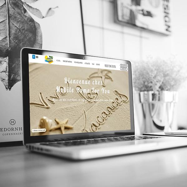 Mobile Home For You - Création de site web