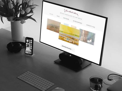 """Création du site """" Gabrielle Bellocq """""""