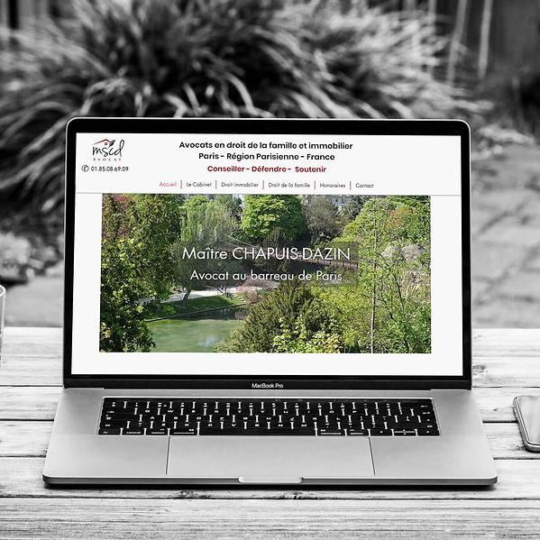 MSCD Avocat -  - Refonte de site web