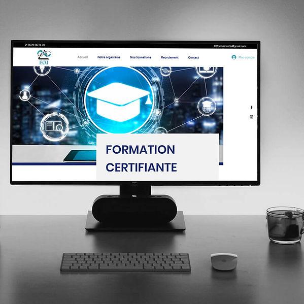 Formation Foi - Création de site web