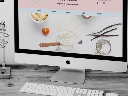 """Refonte du design du site sur Wix de """" CocoPraline """""""