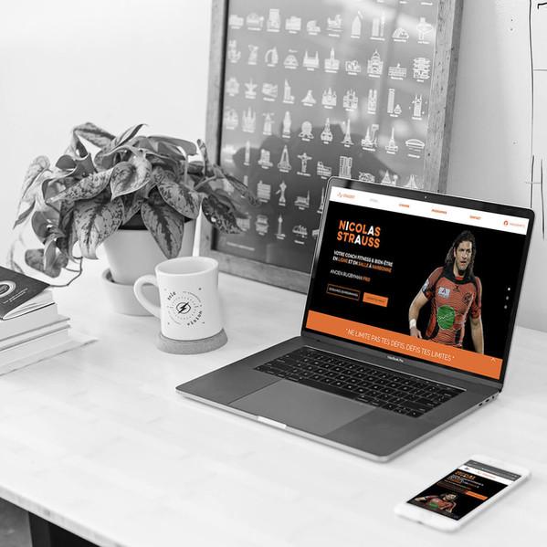 Straussfit - Refonte de site web