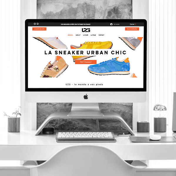 UZS - Refonte de site web