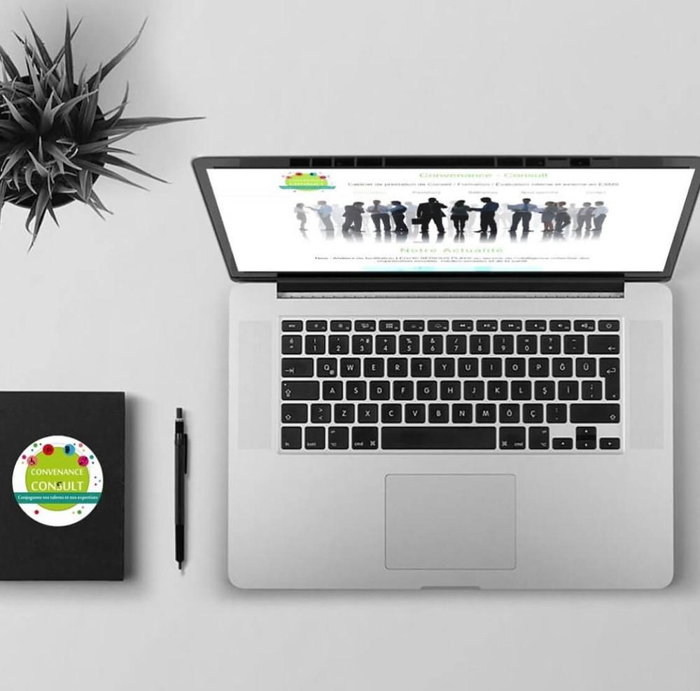 Refonte du site Convenance Consult | Lacky Agence Web