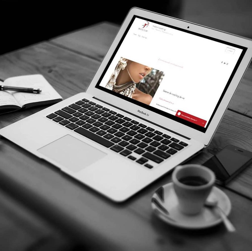 Gestion du site Invictum Coaching | Lacky Agence Web