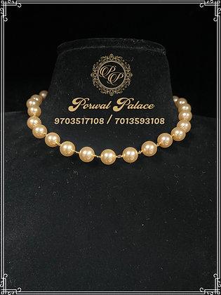 Swarovski Pearls Mala . Wt-3.300 gms