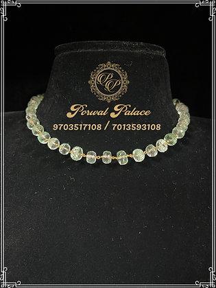 Emeralds Chain .Wt-3.300 gms