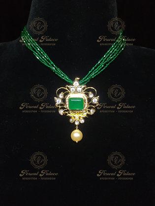 Emeralds Pendant Wt-10 gms