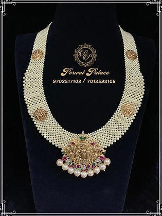 Grand Pearls RamParivar Rani Haar . Wt-15 gms