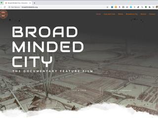 Broad Minded City Website
