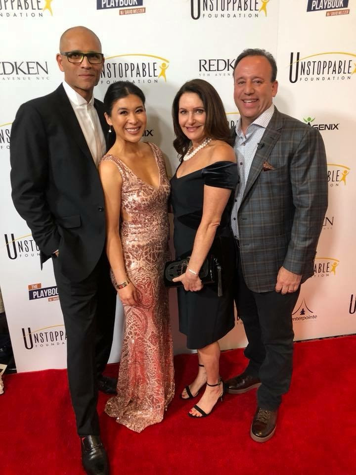 Didi Wong and husband Michael at the Unstoppable Gala, April, 2018
