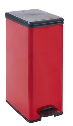 EVO213299-CURVER-DECO-SLIM-BIN-RED-40L-1