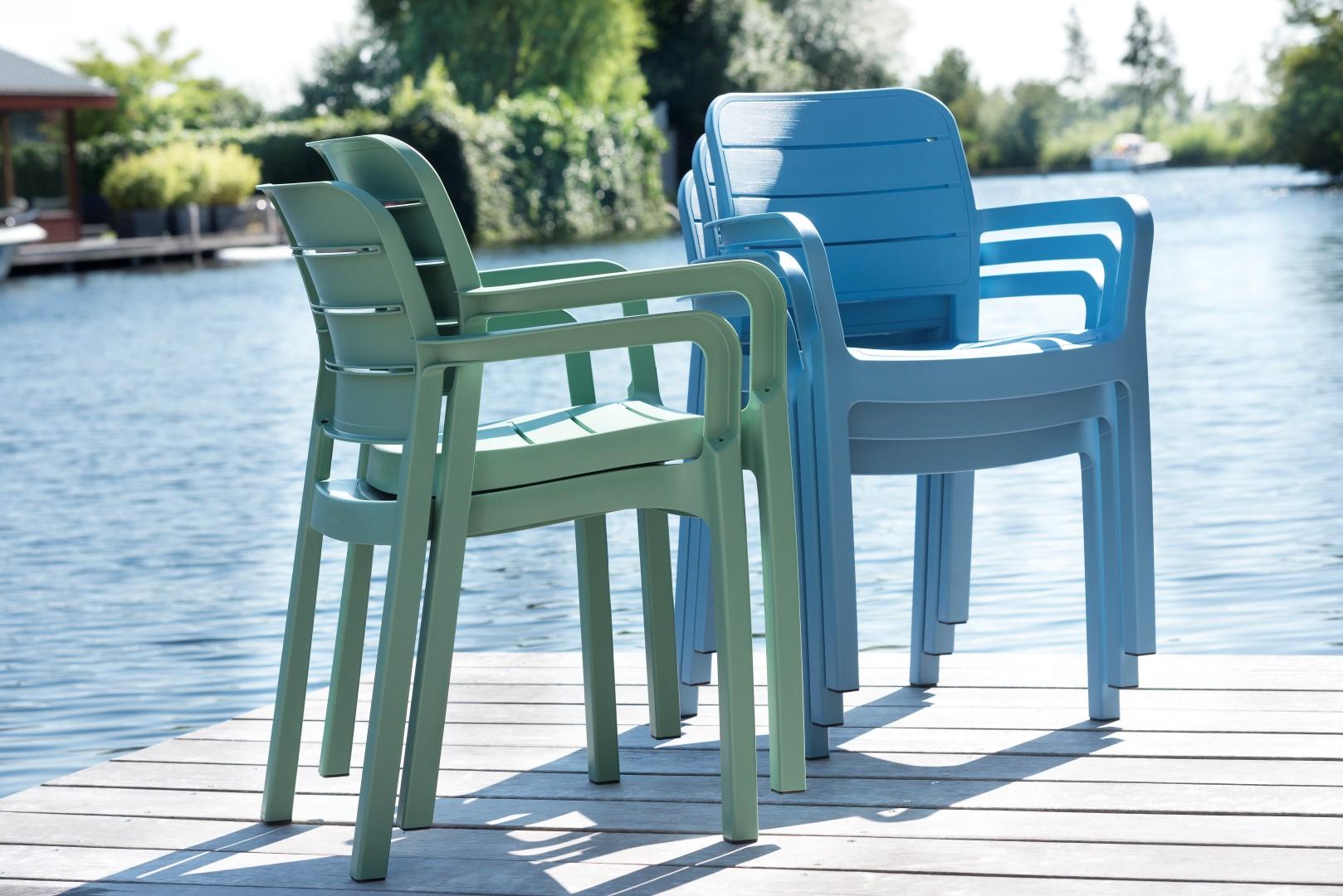 Tisara spring green and Summer blue stac