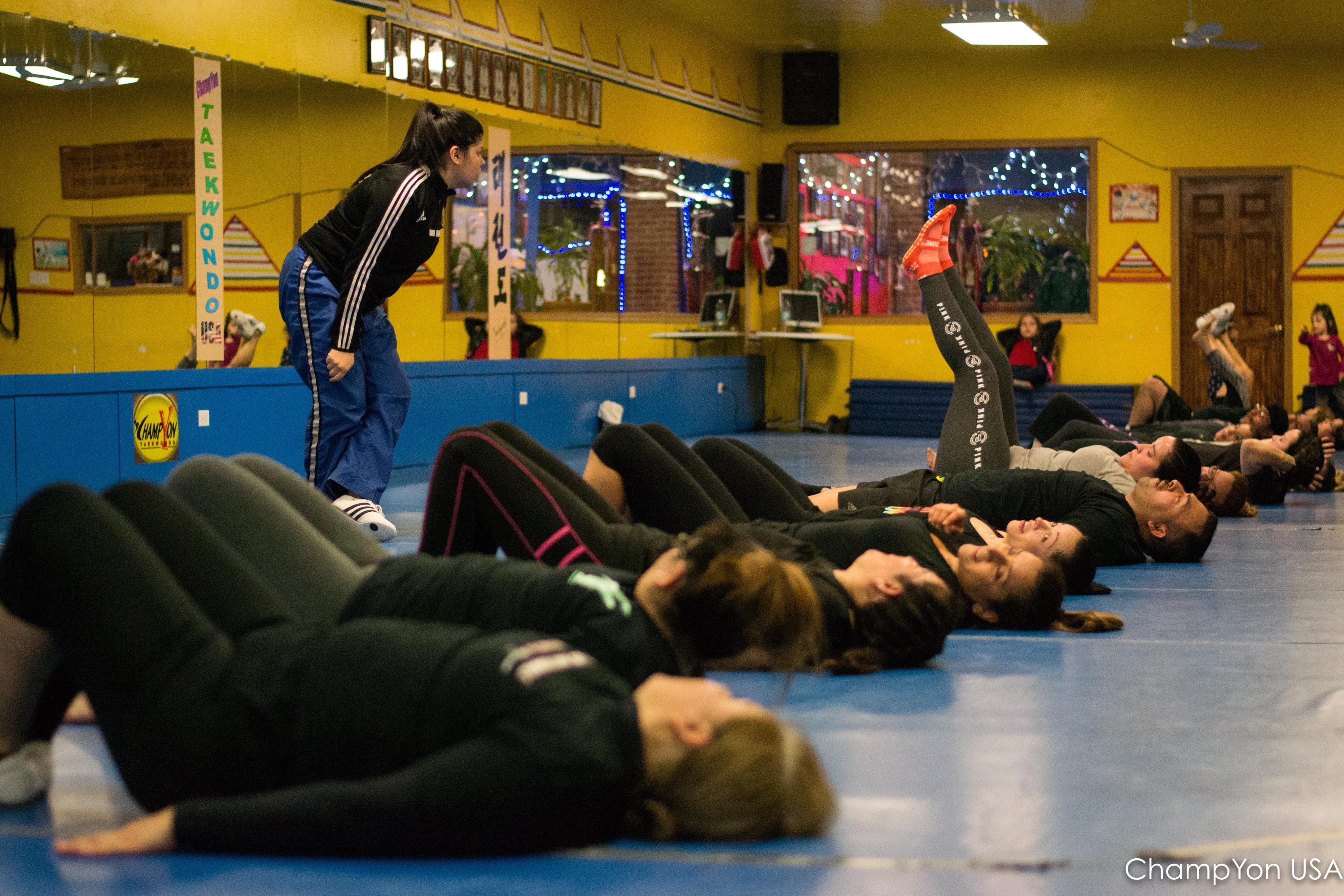 Cardio Kickboxing Trial