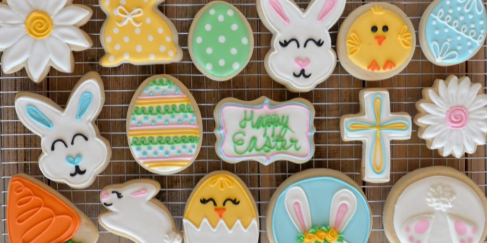 *CANCELLED - Kids Easter Cook Club Week 1 - Spring Time Sushi & California Rolls and Lemon Iced Easter Cookies
