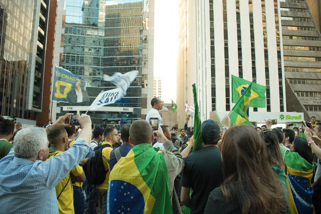 Demonstration for Bolsonaro