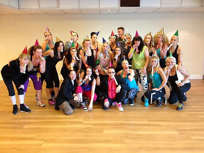 Zumba parties with Fitjess Fitness
