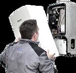 Worcester Bosch boiler installation serv
