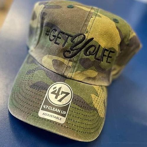 #GetYoLife Camo Hat