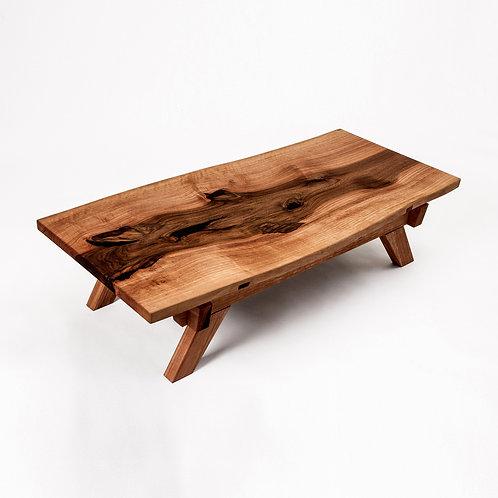 Luxury walnut tea table