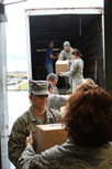 Delivering 144 Thanksgiving Meals to Local Military Families