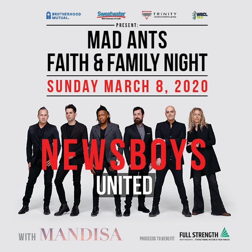 Mad Ants Faith & Family Night
