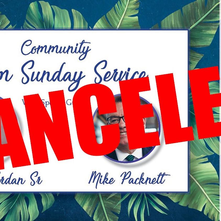 CANCELED - Community Palm Sunday Service