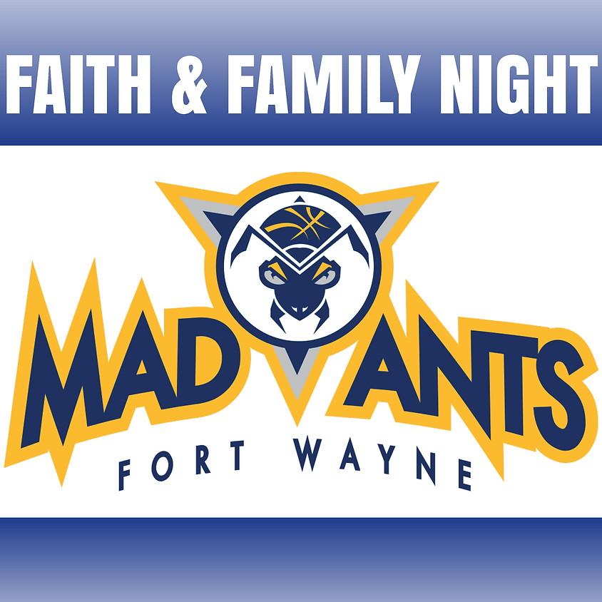 Mad Ants - Faith & Family Night