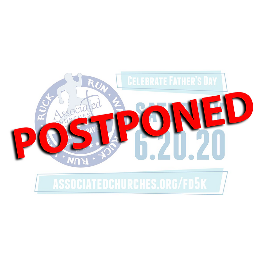 Postponed - Father's Day 5K