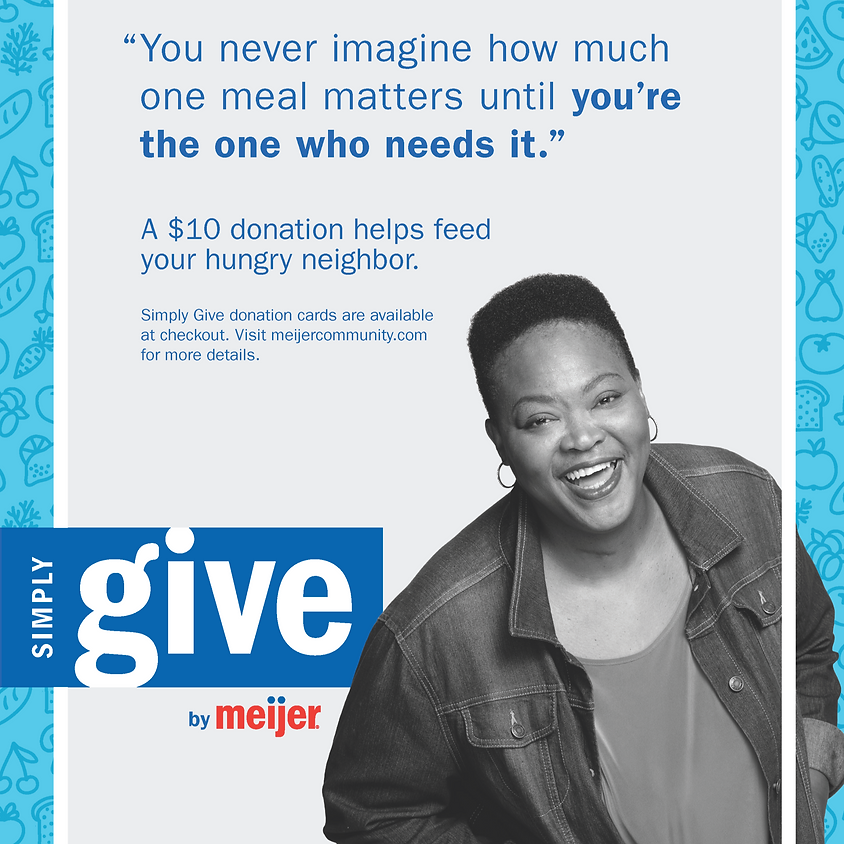 Meijer's Simply Give