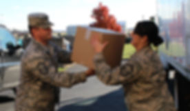 Thanksgiving Meals for Military Families