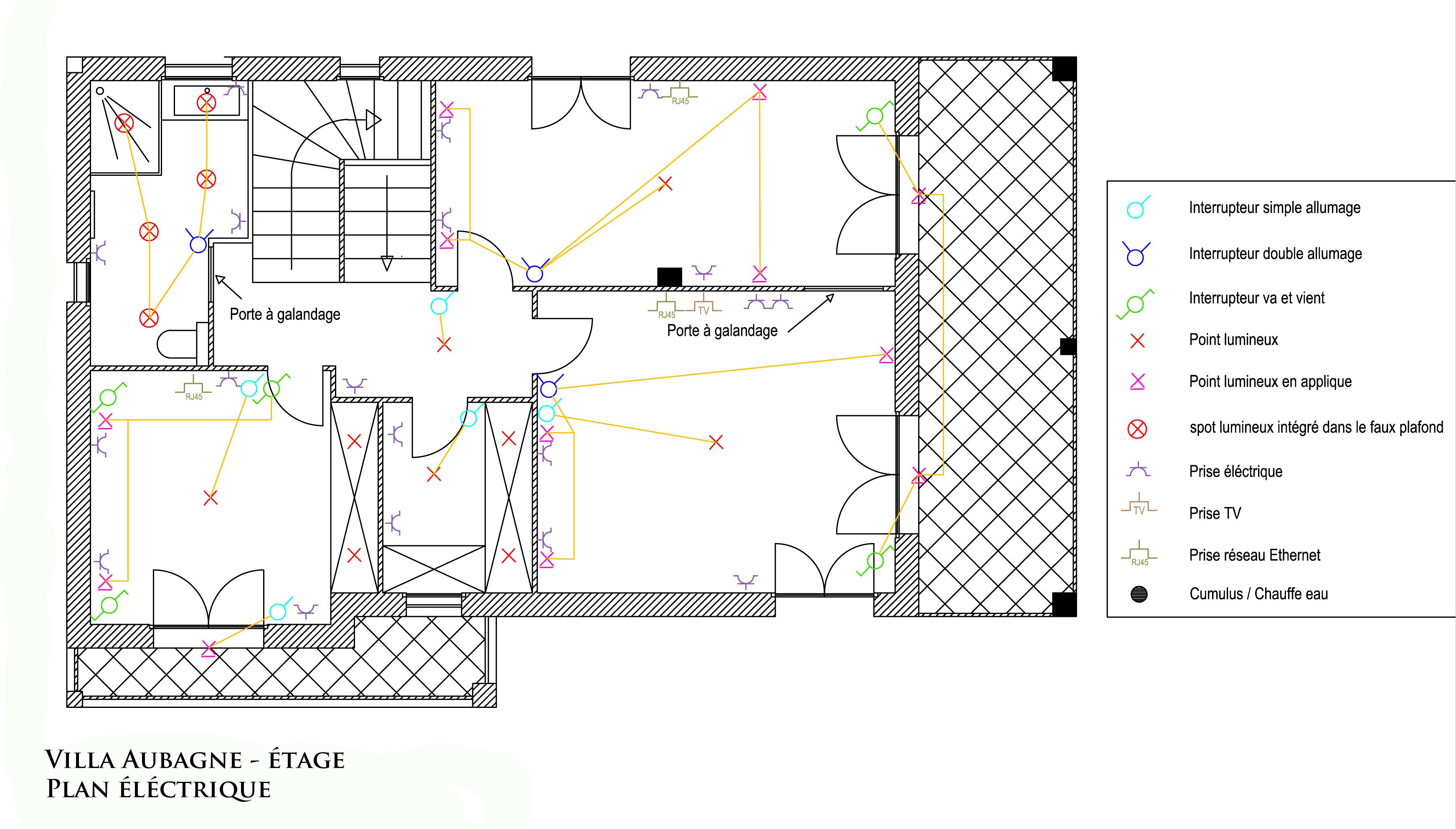 Plan Porte À Galandage audemillerioux | projets 3d