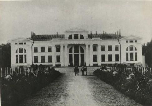 Järvakandi mõisa peahoone 1900. aastal