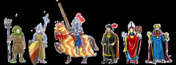 Sujetos sociales en la Edad Media