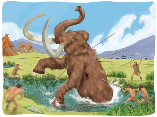 La caza el mamut