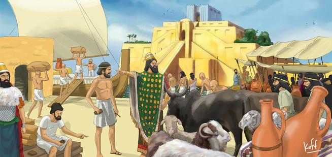 Tributo en Sumeria