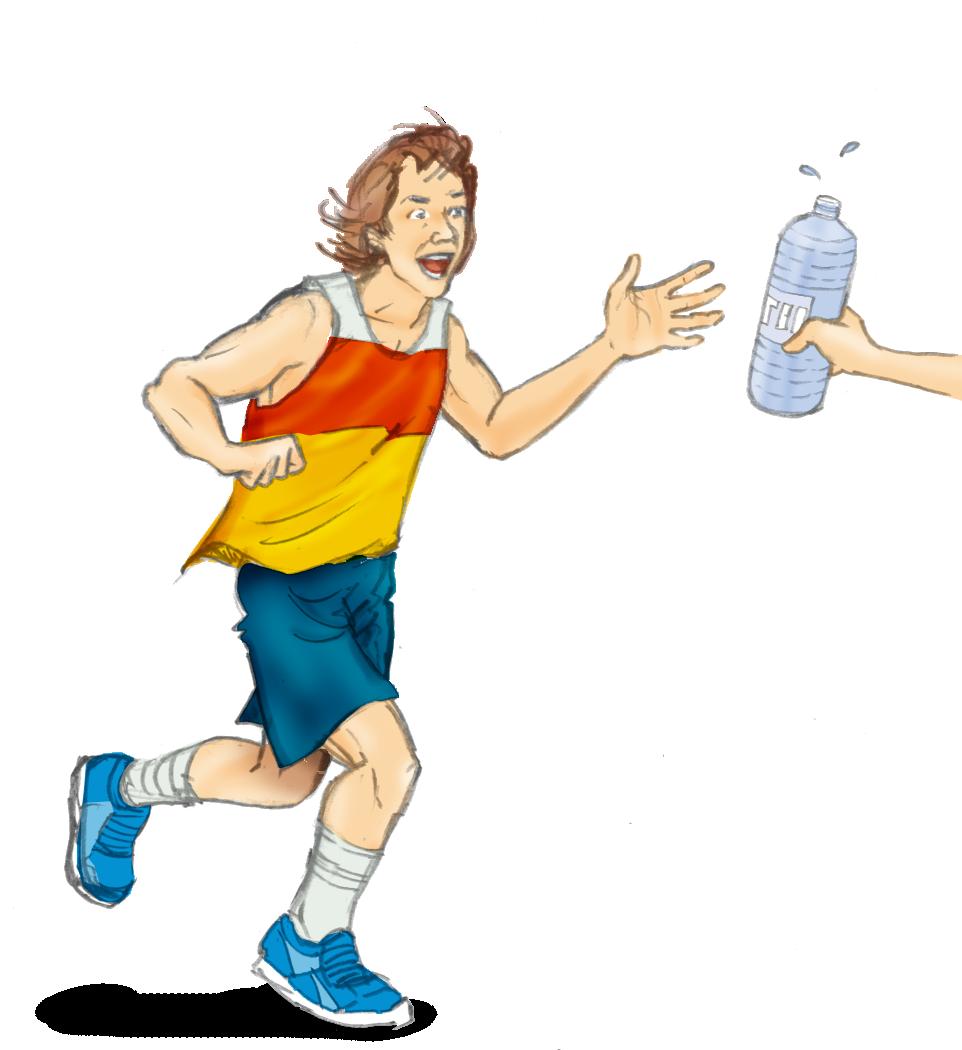 La hidratación es importante