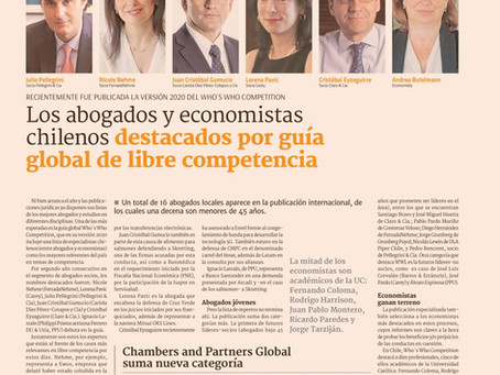 Diario Financiero - Who's Who Competition