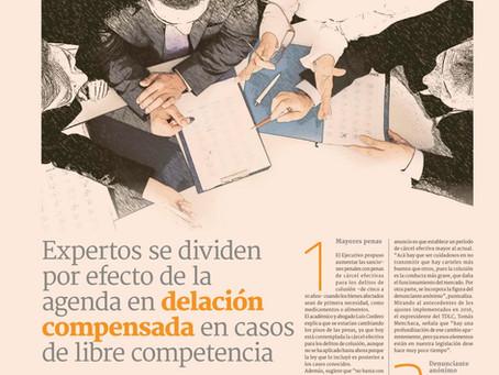 Diario Financiero - Expertos se dividen por efecto de la agenda en delación compensada