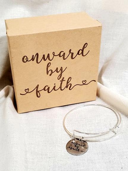 Onward By Faith Bracelet to Wear