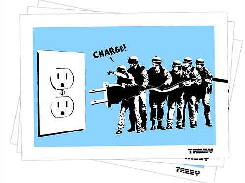 Stickers - Charge!